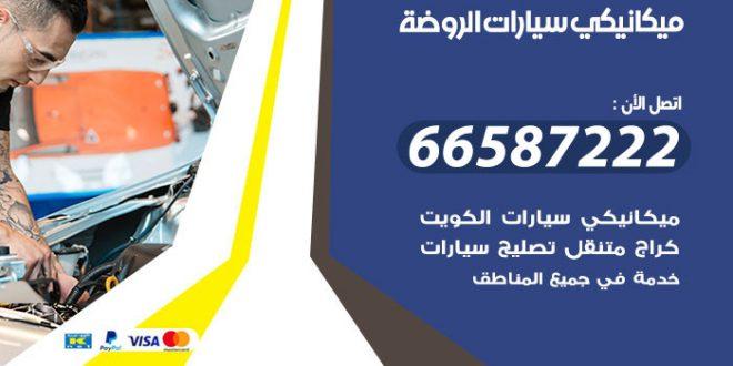رقم ميكانيكي سيارات الروضة